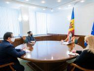 """Președinta Maia Sandu a avut o întrevedere cu Ambasadorul UE în R. Moldova, Peter Michalko: """"Am abordat atât aspecte ale politicii interne, cât și perspectivele politicii externe"""""""