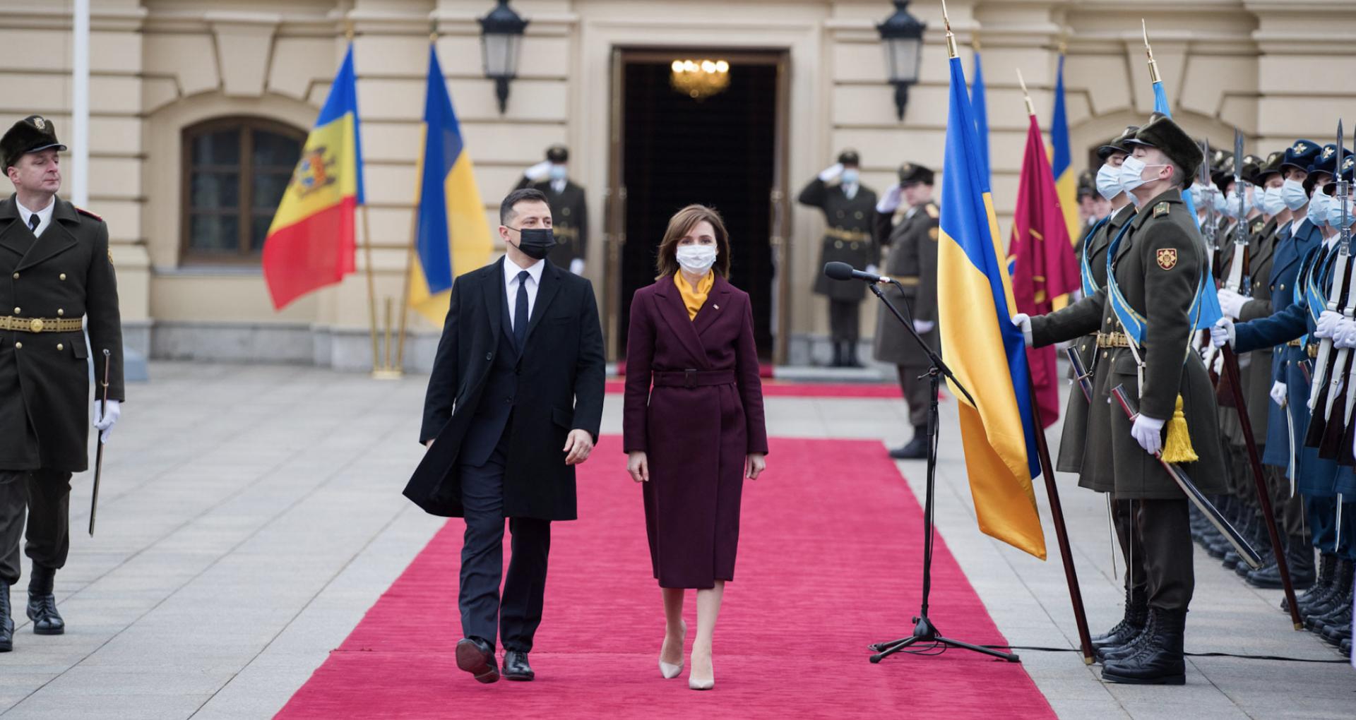 VIDEO/ Pricipalele declarații  făcute de Președinta R. Moldova, Maia Sandu și Președintelui Ucrainei, Vladimir Zelenskiy. A fost semnat un acord bilateral