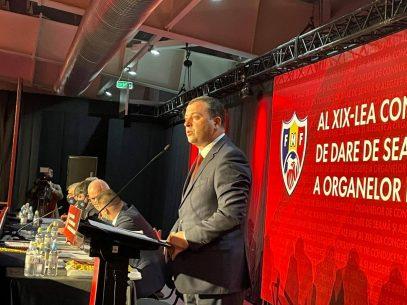 La al XIX-lea Congres, Leonid Oleinicenco reales! Alegerile cu un singur candidat de la FMF au fost câștigate de actualul președinte
