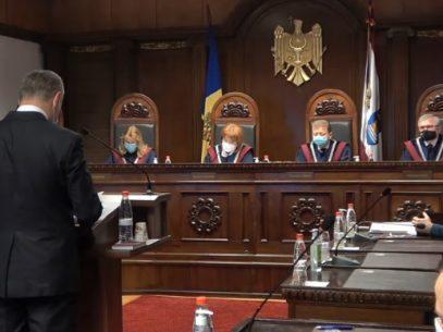 VIDEO/ Curtea Constituțională a pronunțat Hotărârea în legătură cu sesizările depuse privind controlul constituționalității legii cu privire la funcționarea limbilor vorbite pe teritoriul R. Moldova