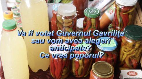 Va fi votat Guvernul Gavrilița sau vom avea alegeri anticipate? Ce vrea poporul?