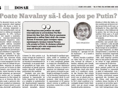 Poate Navalny să-l dea jos pe Putin?