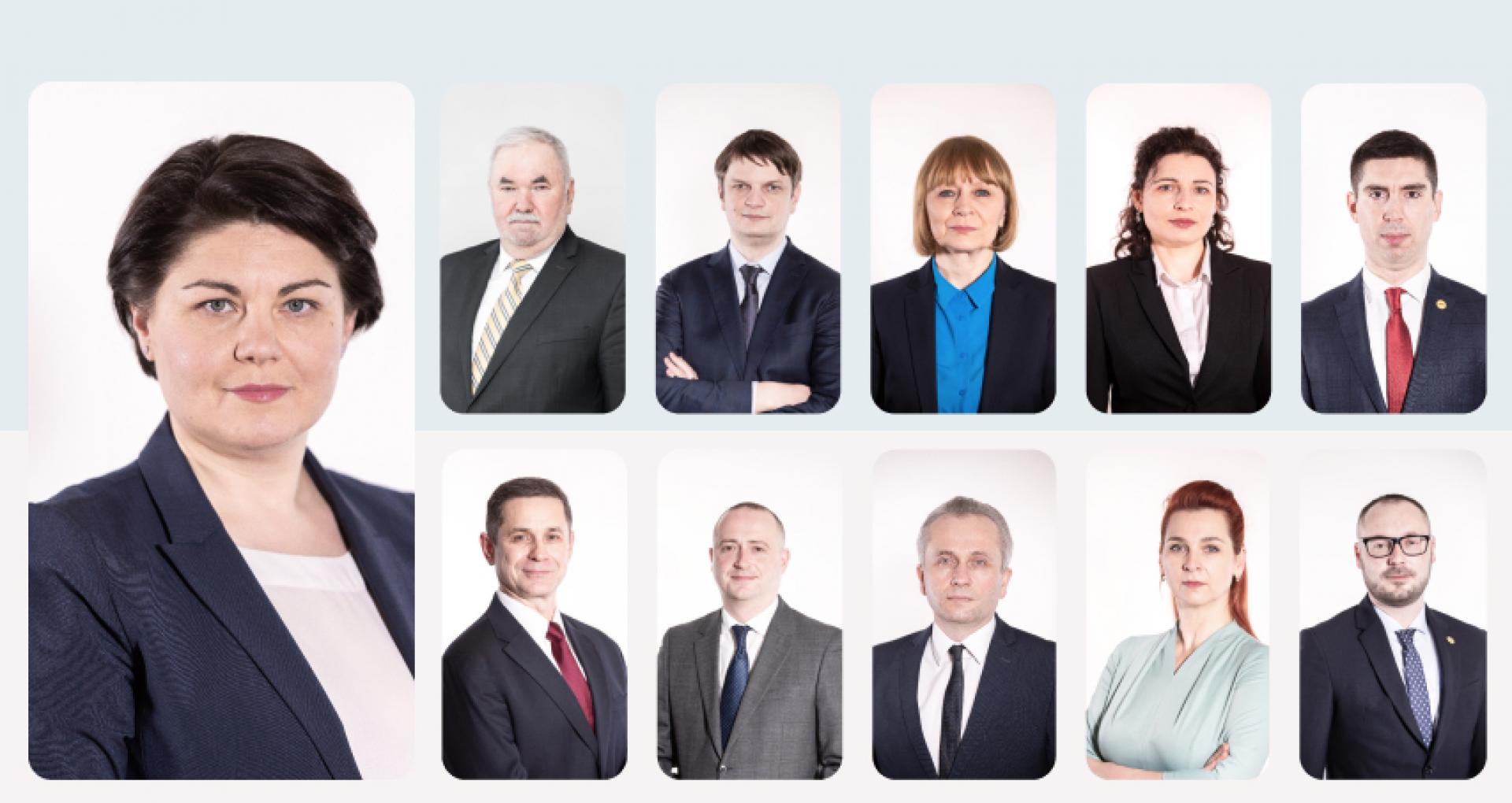 ULTIMA ORĂ! A fost făcută publică lista miniștrilor desemnați în Guvernul Nataliei Gavriliţa