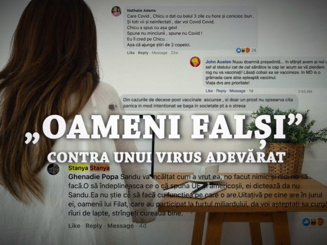 """VIDEO/ """"Oameni falși"""" contra unui virus adevărat. ZdG a contactat mai multe profiluri false antivacciniste care comentează activ pe pagina ZdG de pe facebook"""