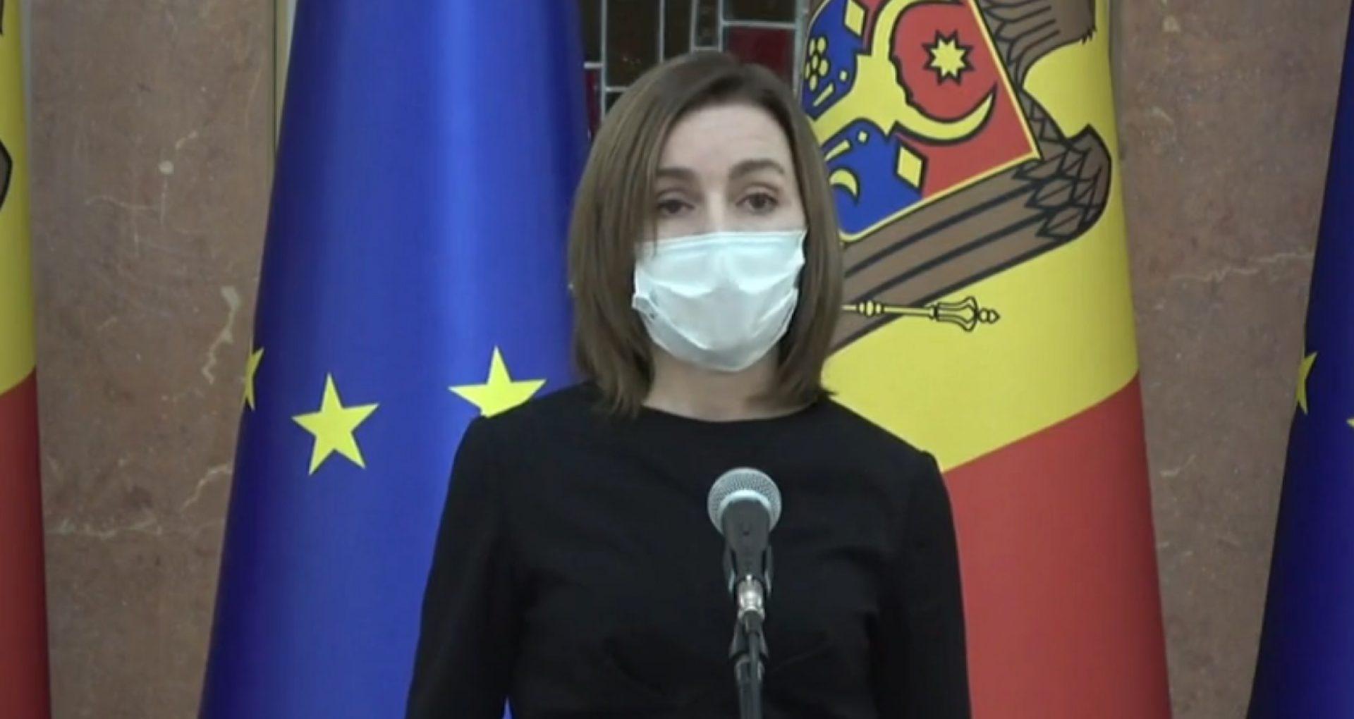 VIDEO/ Maia Sandu: La anticipate sau la referendum oamenii vor decide viitorul lor și al țării
