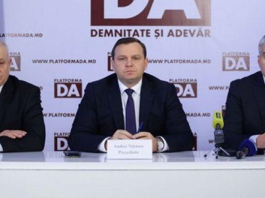 """Andrei Năstase anunță că Platforma DA a demarat procesul de discuții cu partidele pro-europene: """"CC, prin hotărârea ei fermă, ne-a făcut câștigători pe toți"""""""