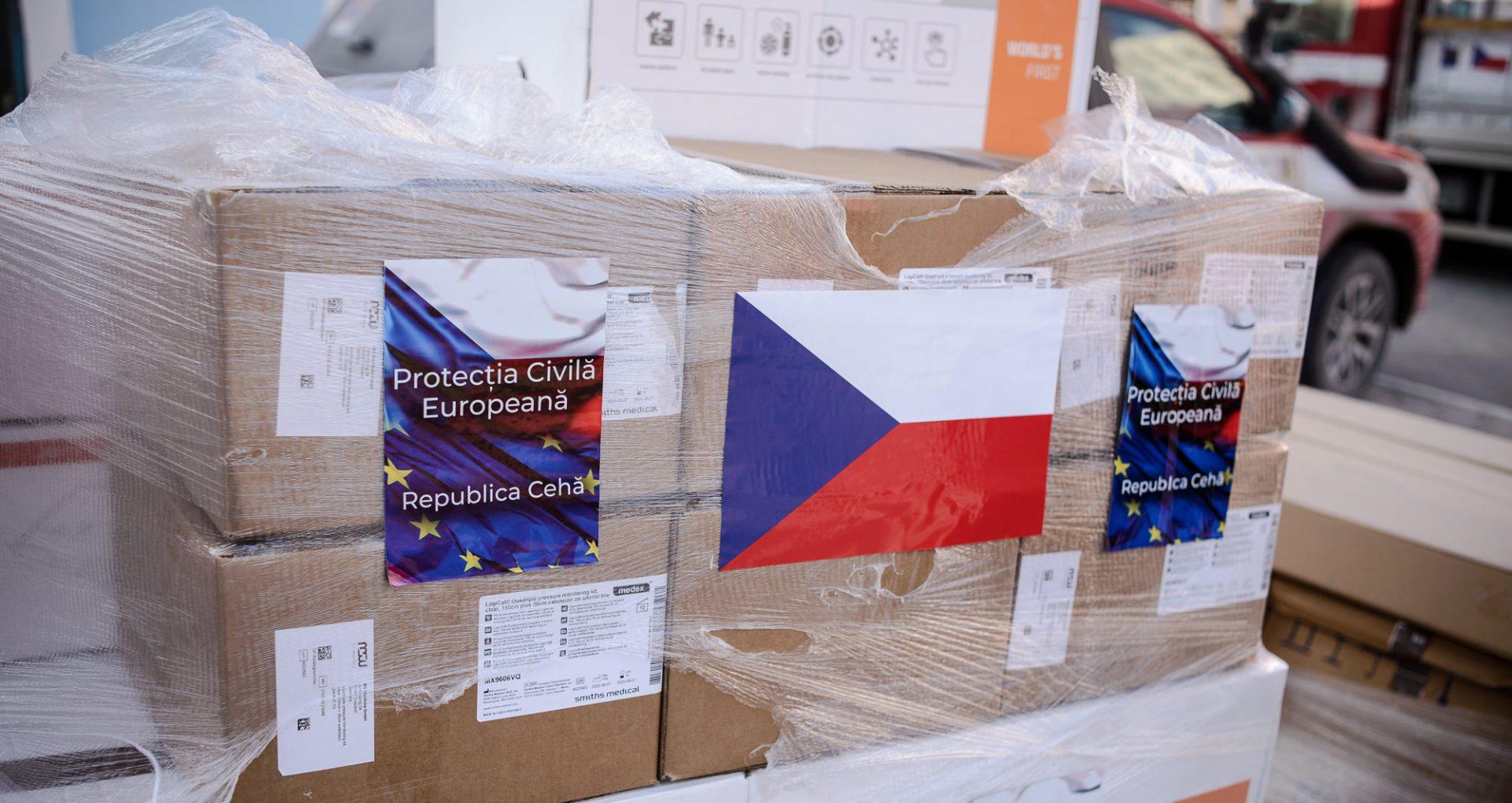 Donație în mărime de peste 1,3 mln de euro din partea Republicii Cehe pentru instituțiile medicale din R. Moldova
