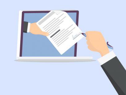 Cum poți semna un contract la distanță
