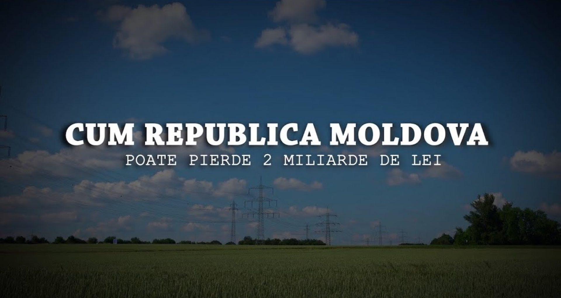 VIDEO/ Cum R. Moldova poate pierde 2 miliarde de lei. Licitații cu interese în jurul unei datorii pentru energia electrică livrată acum două decenii