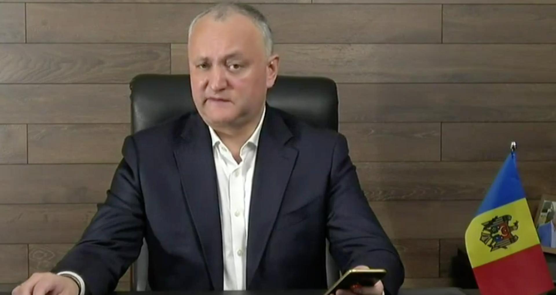 Controlul pornit de ANI: Funcția pe care a deținut-o Dodon în același timp cu funcția de președinte al R. Moldova