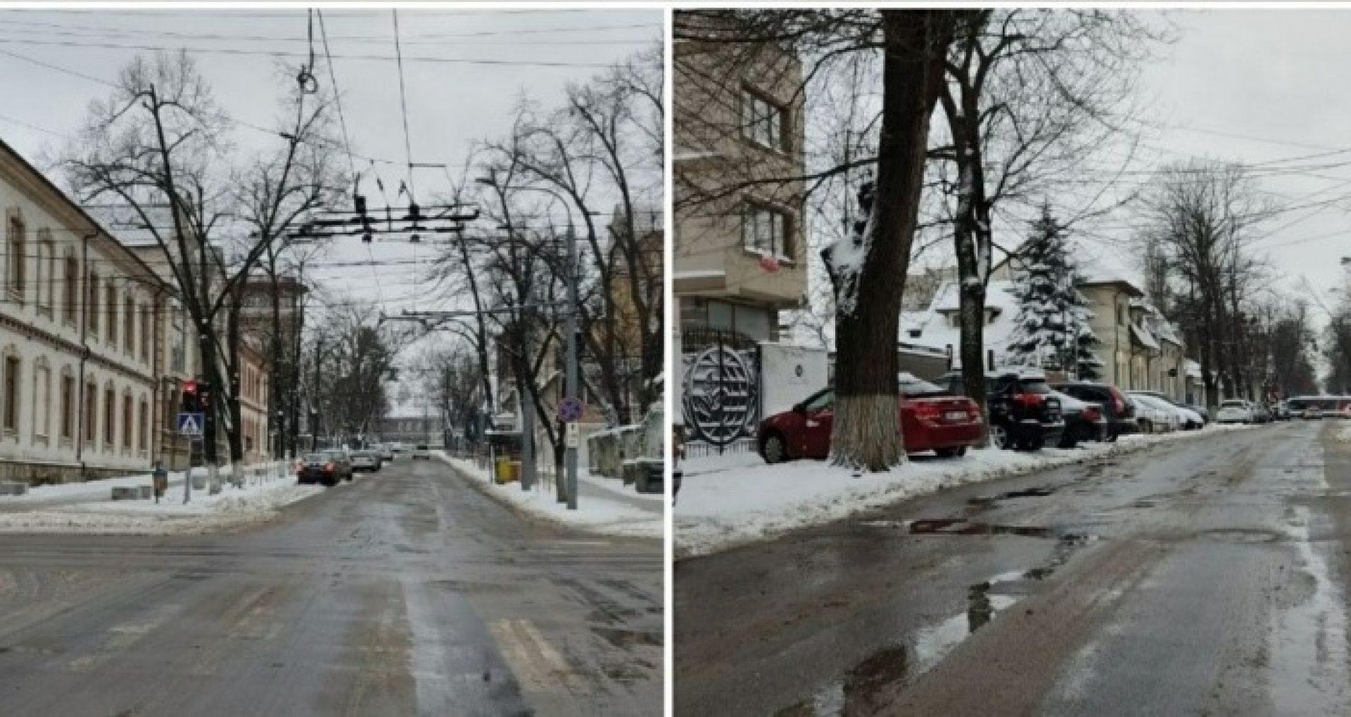 Vremea în weekend: minime de -10°C și ninsori slabe în nord, temperaturi pozitive ziua la Chișinău și în sudul țării