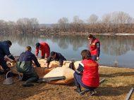 Salvatorii continuă astăzi să o caute pe copila dispărută pe 23 februarie pe râul Nistru