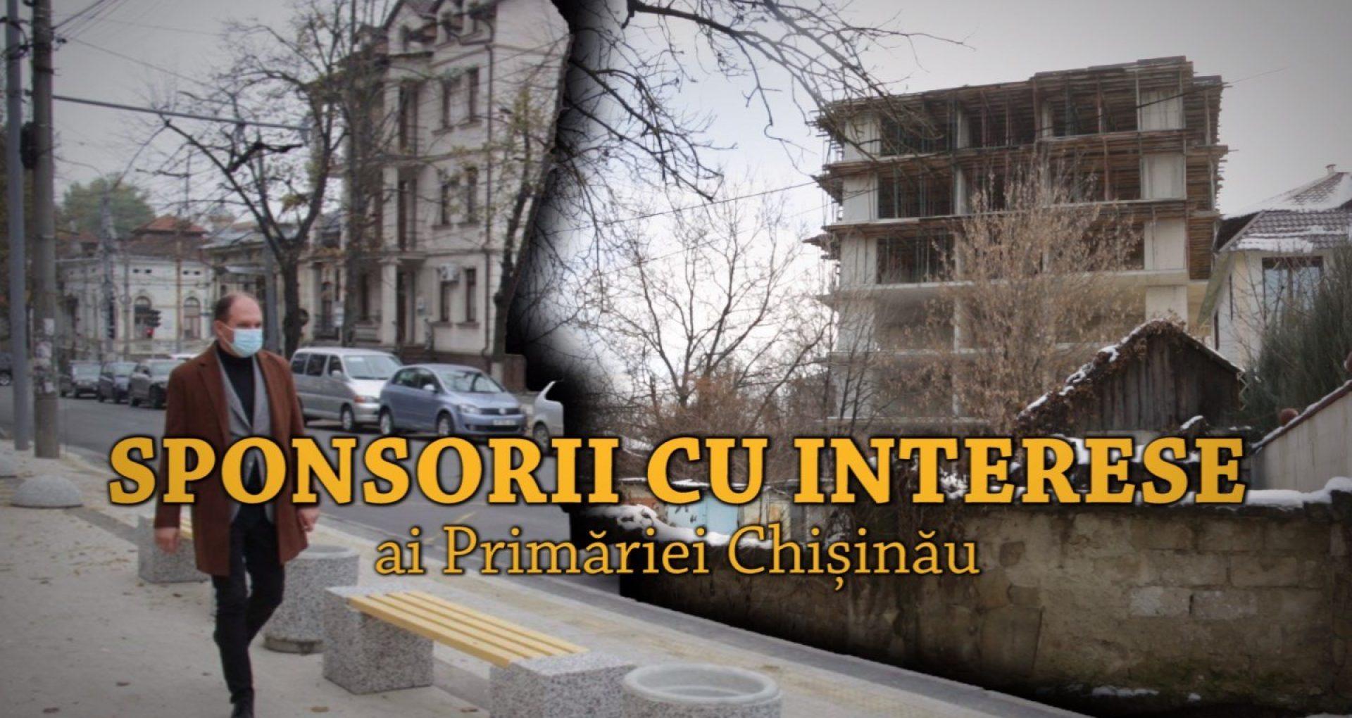 Sponsorii cu interese ai Primăriei Chișinău