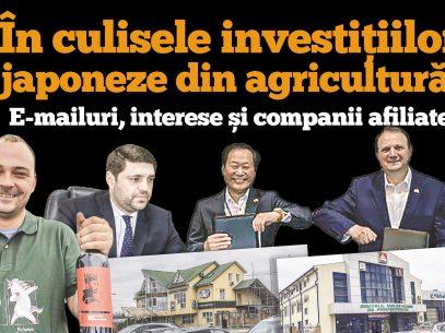 DOC/ În culisele investițiilor japoneze din agricultură: E-mailuri, interese și companii afiliate