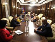 Reprezentanții Guvernului în exercițiu anunță că au avut o ședință de lucru cu președinta socialistă a Parlamentului, în contextul pandemiei de COVID-19. Solicitarea făcută de Greceanîi către Cabinetul de miniștri