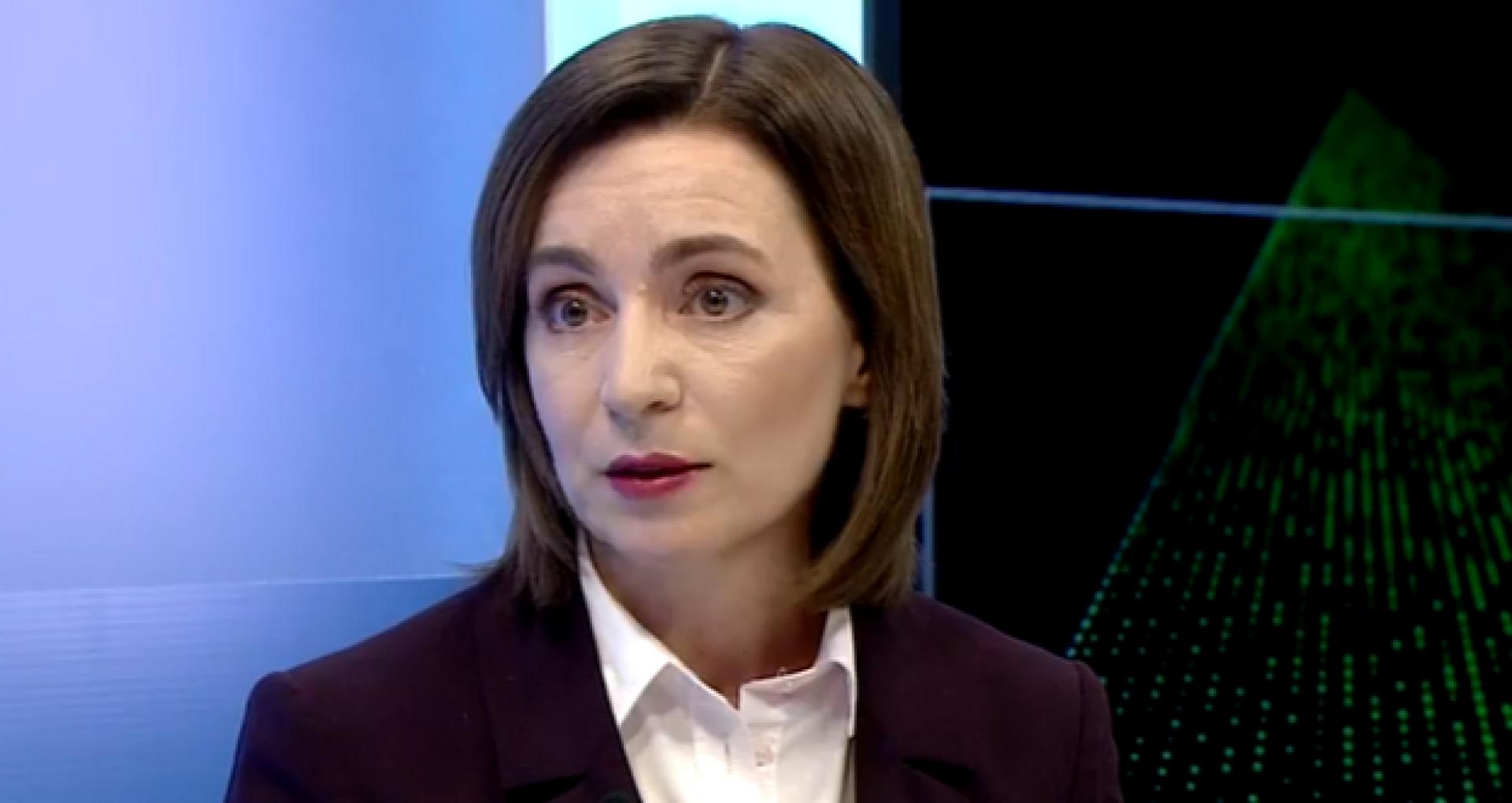 Primele declarații ale președintei R.Moldova, Maia Sandu după ce a fost declarată stare de urgență pe teritoriul țării