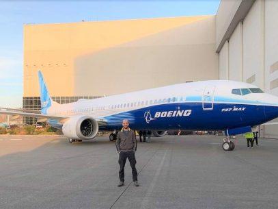 """Un moldovean la Boeing: """"Aici, în fiecare zi înveți ceva nou"""""""