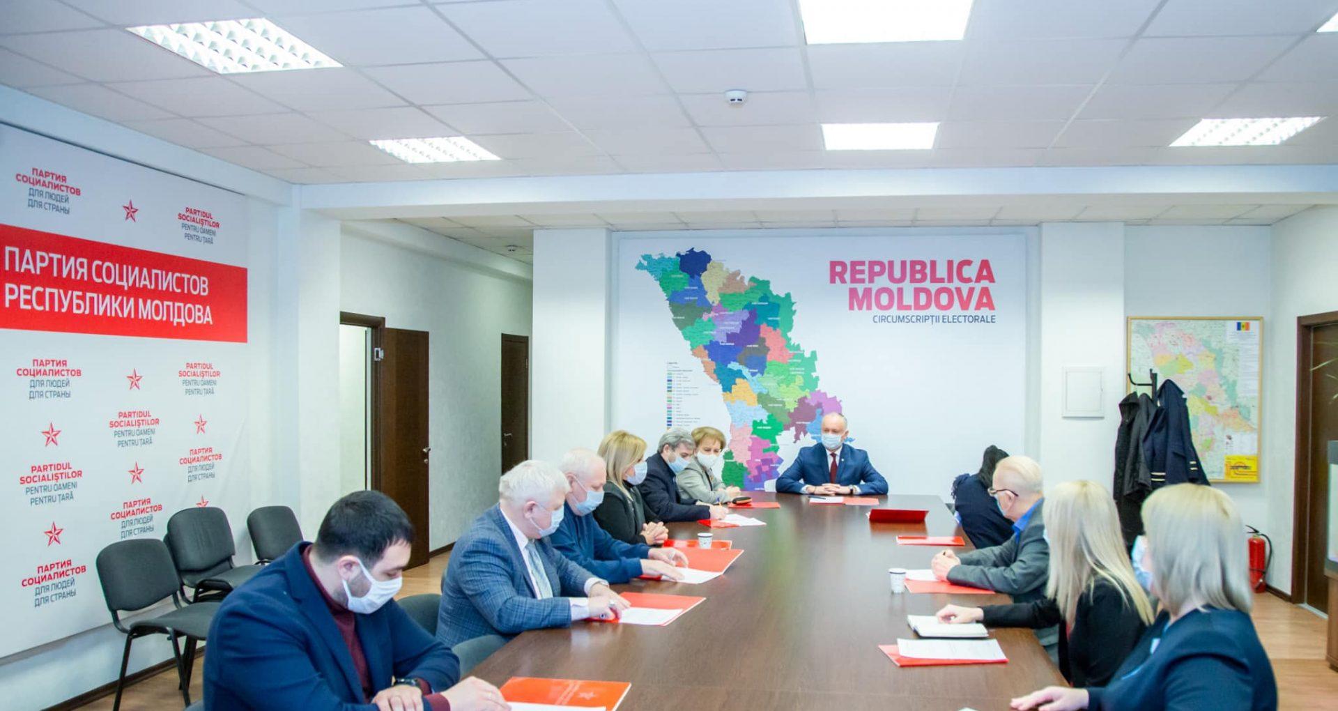 """PSRM anunță că va iniția mai multe acțiuni juridice pentru a depăși """"blocajul politic"""" din R. Moldova.  Principalele decizii luate de socialiști, după Comitetul Executiv Politic al partidului"""
