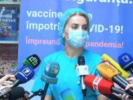 """Start campaniei de vaccinare împotriva COVID-19. Medic imunizat: """"Mă simt bine și fericită că în sfârșit vaccinul a ajuns în R. Moldova"""""""