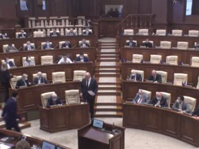 """DOC/ Declarația socialiștilor, prezentată în Parlament, cu privire la """"recunoașterea caracterului captiv al Curții Constituționale"""", votată de alianța PSRM-ȘOR"""