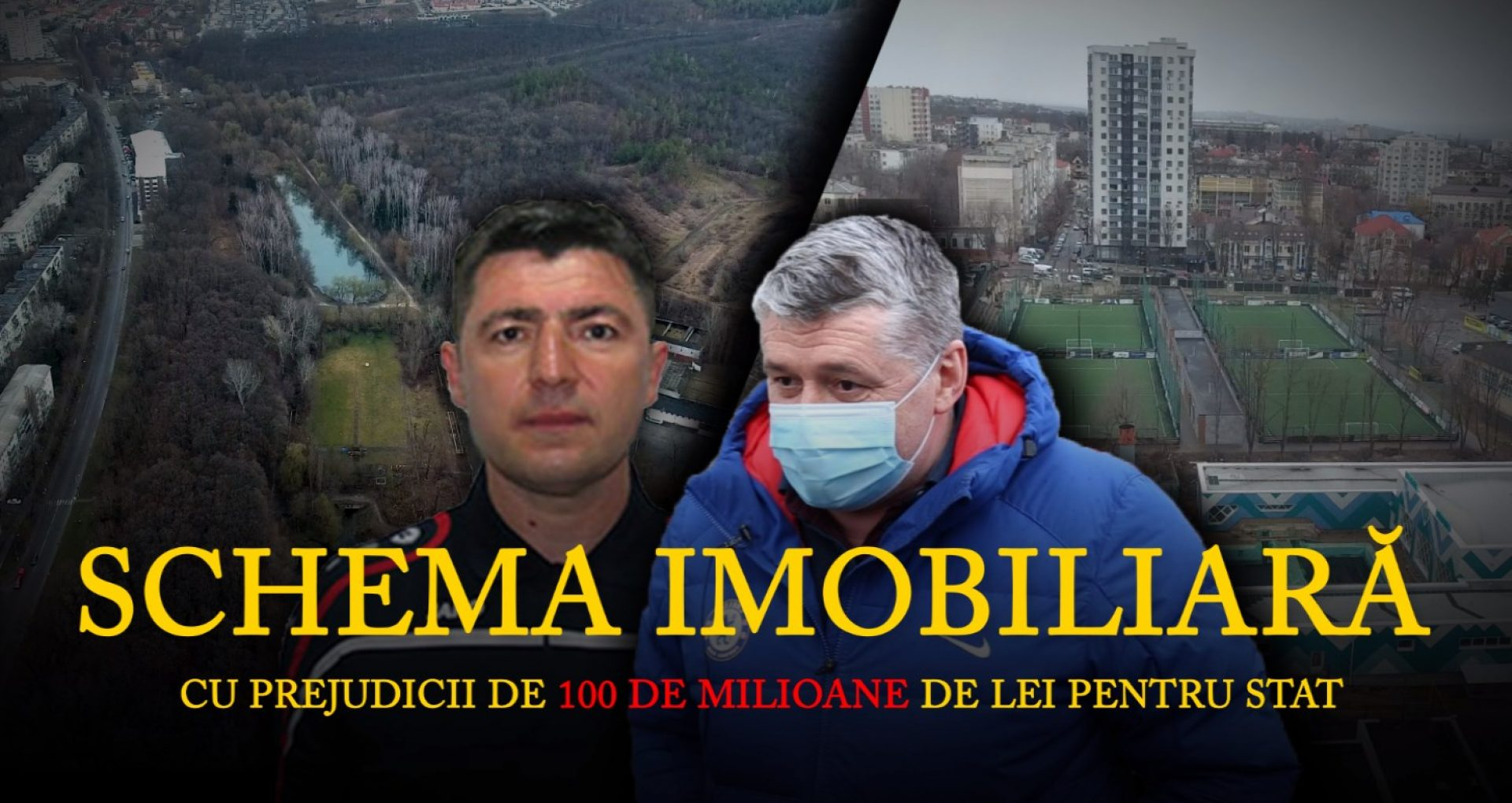 """VIDEO/ Schema imobiliară care poate lăsa statul fără 100 de milioane de lei. În rolurile principale: miniștri, fostul șef al Clubului sportiv """"Dinamo"""" și un om de afaceri """"specializat"""" în acapararea terenurilor publice"""