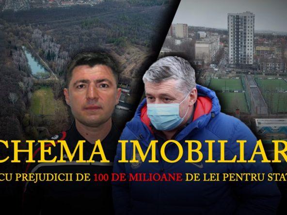 """Schema imobiliară care poate lăsa statul fără 100 de milioane de lei. În rolurile principale: miniștri, fostul șef al Clubului sportiv """"Dinamo"""" și un om de afaceri """"specializat"""" în acapararea terenurilor publice"""