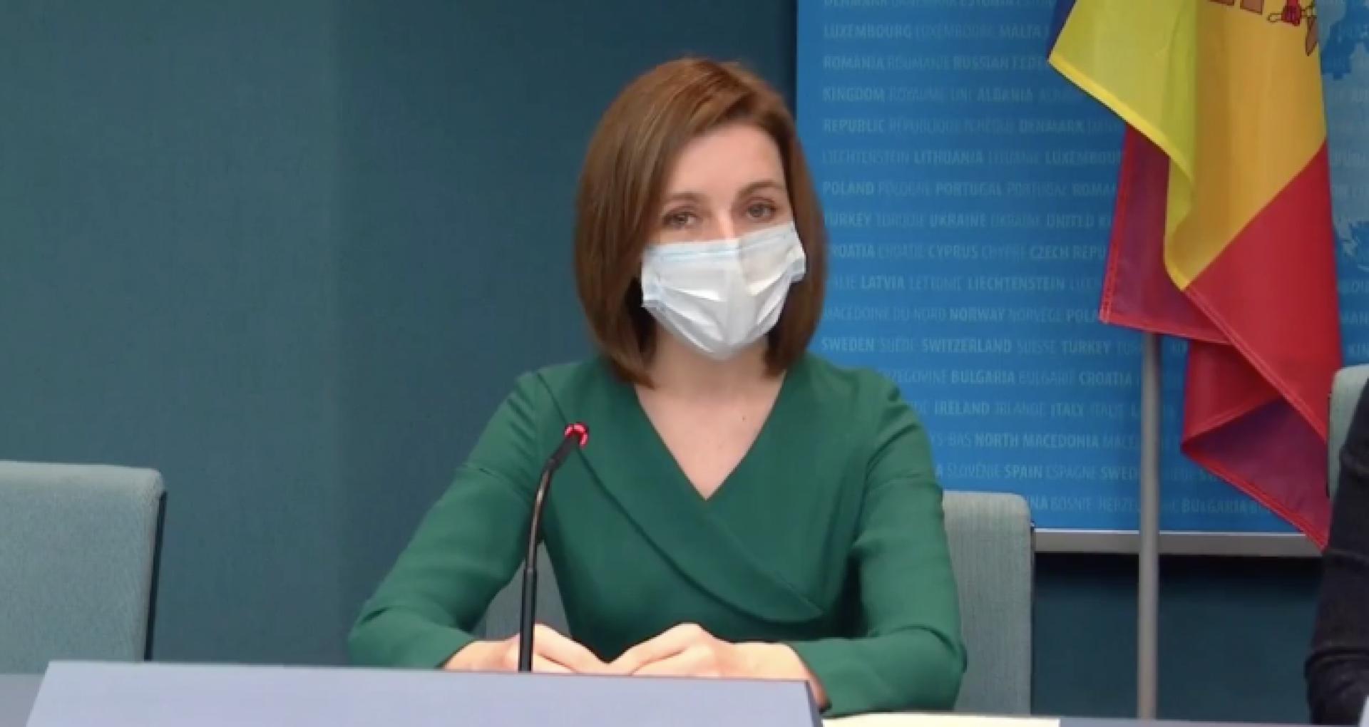 """Președinta Maia Sandu, despre activitatea ANI: """"Noi am solicitat asistență de la Guvernul francez și este planificată o vizită cu reprezentanții instituției lor de integritate ca să ne spună de ce nu funcționează lucrurile la noi"""""""