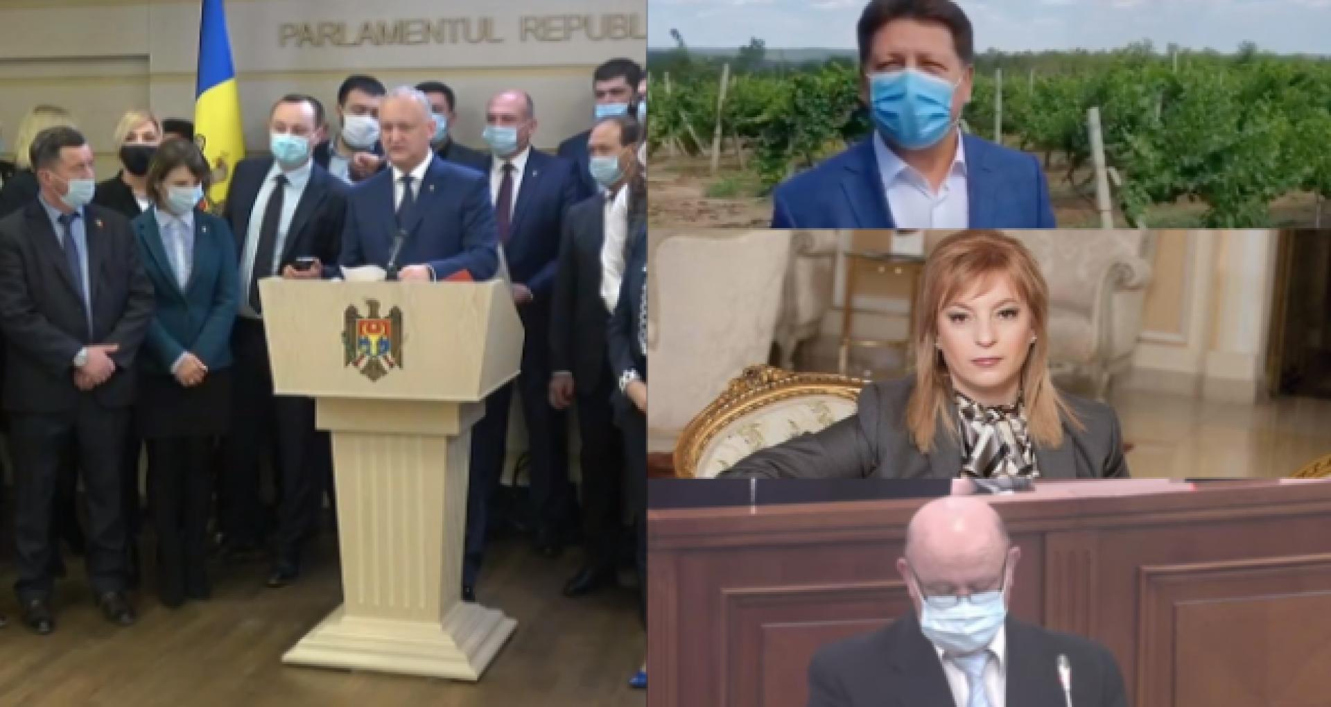 Maratonul retragerilor: Gațcan, Durleșteanu și Lupașcu – oameni înaintați sau promovați de socialiști la funcții cu demnitate publică decid să se retragă