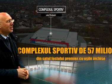 """Complex sportiv de 57 de milioane în satul fostului premier Filip — """"problemă moștenită"""" de noua administrație de la Strășeni"""