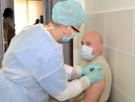 FOTO/ 4 556 de cetățeni s-au vaccinat împotriva COVID-19, în ultimele 24 de ore: 3 252 de persoane s-au imunizat cu prima doză