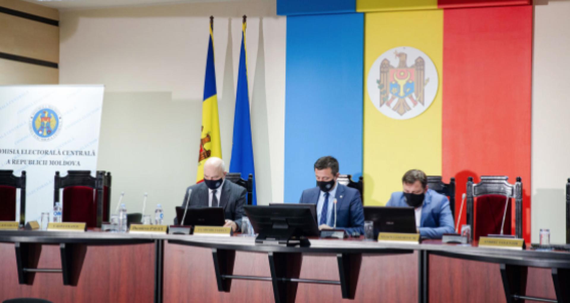 CEC a înregistrat oficial PDCM, AUR și NOI în cursa electorală pentru alegerile parlamentare anticipate din 11 iulie