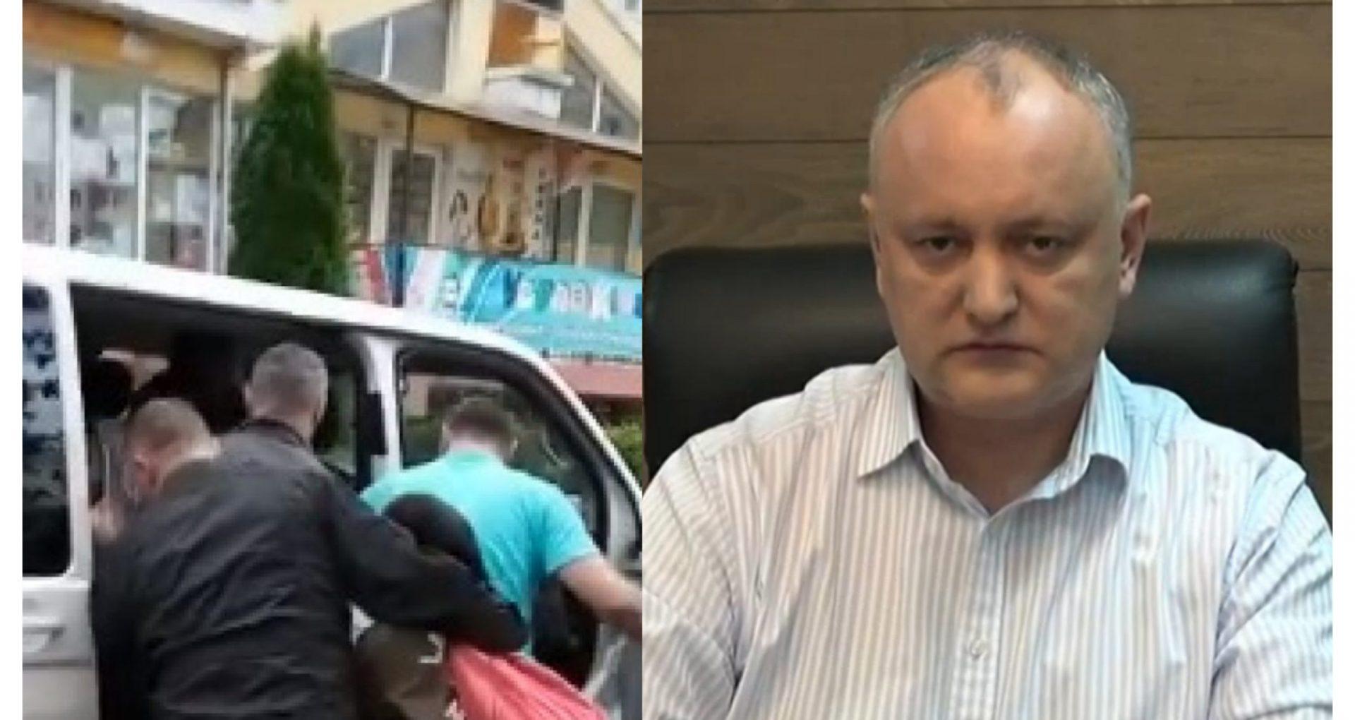 """VIDEO/ Igor Dodon, despre cetățenii turci, expulzați din R. Moldova în 2018: """"I-au urcat în charter, le-au turnat ceai și i-au trimis acasă"""""""