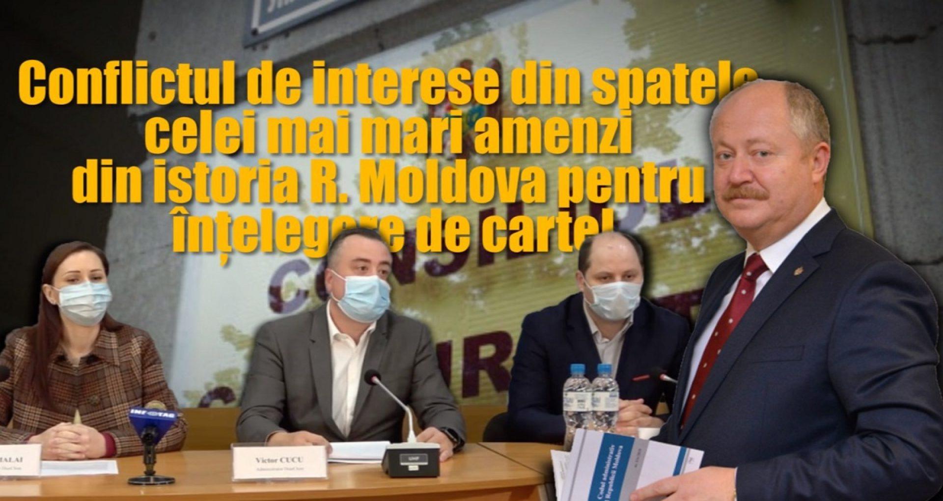 Conflictul de interese din spatele celei mai mari amenzi din istoria R. Moldova pentru înțelegere de cartel