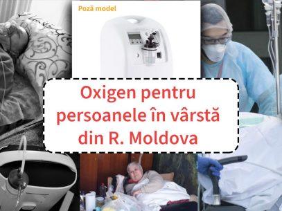 Donații din diaspora pentru concentratoare de oxigen care vor ajunge la persoanele în vârstă din R. Moldova