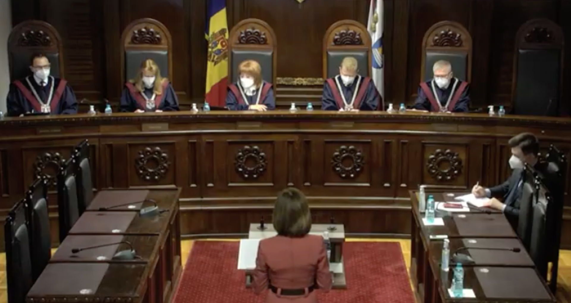 VIDEO/ Curtea Constituțională a decis: există circumstanțe pentru dizolvarea Parlamentului de la Chișinău