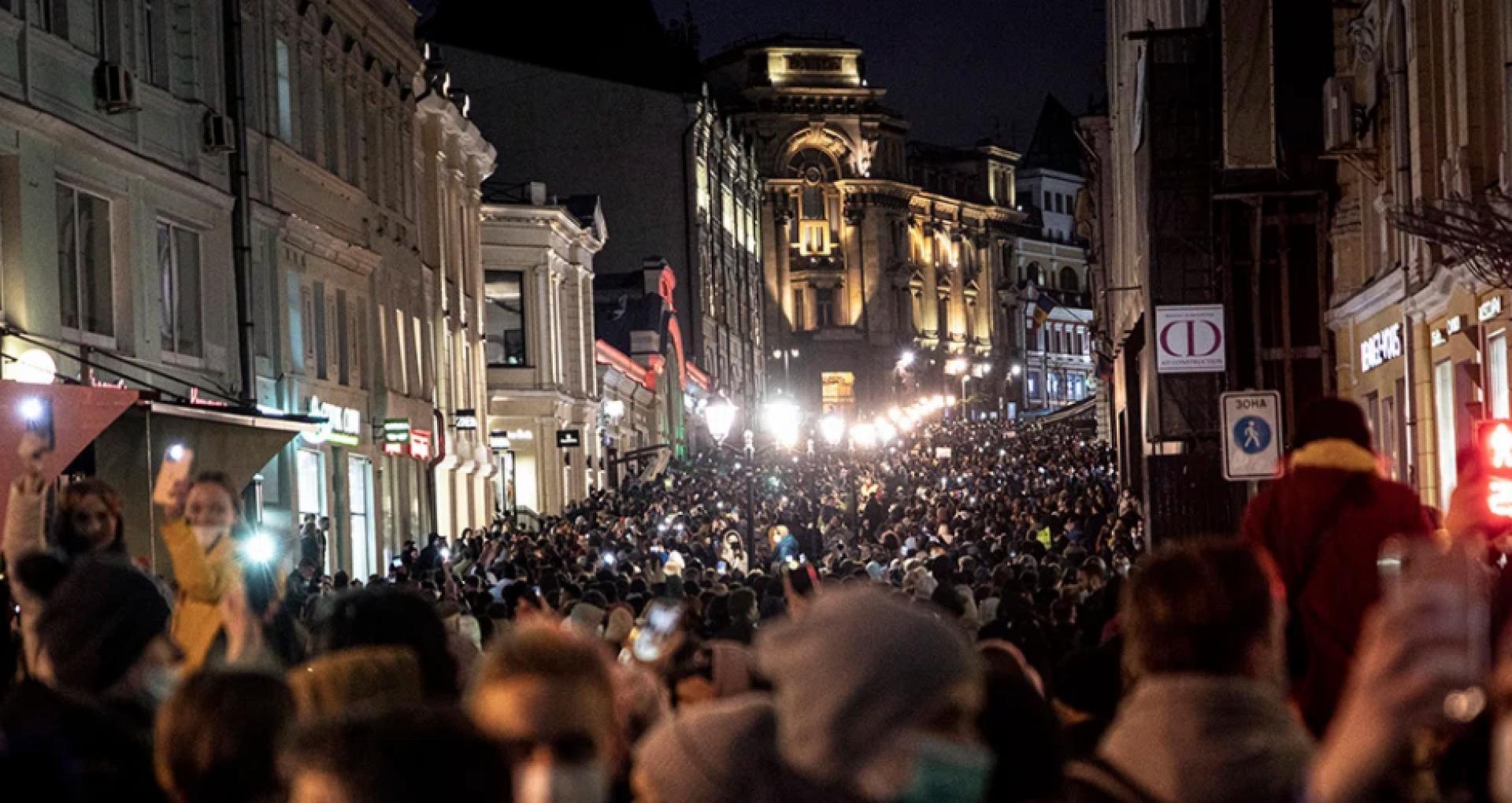 """VIDEO/ Cum au avut loc la Moscova și la Sankt Petersburg mitingurile în sprijinul politicianului Alexei Navalny: """"Și noi suntem Rusia"""""""