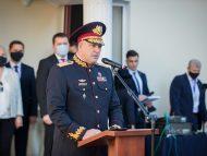 Fostul șef al SPPS cu uniformă de general ornată cu fire aurite, Iaroslav Martin, citat la CNA pentru a fi audiat într-un proces penal