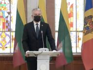 LIVE/ Declarații de presă susținute de președinta R. Moldova, Maia Sandu, și președintele R. Lituania, Gitanas Nauseda