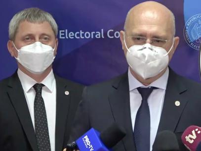 VIDEO/ Partidul Democrat a depus listele la CEC pentru înregistrarea în cursa pentru alegerile parlamentare anticipate din 11 iulie