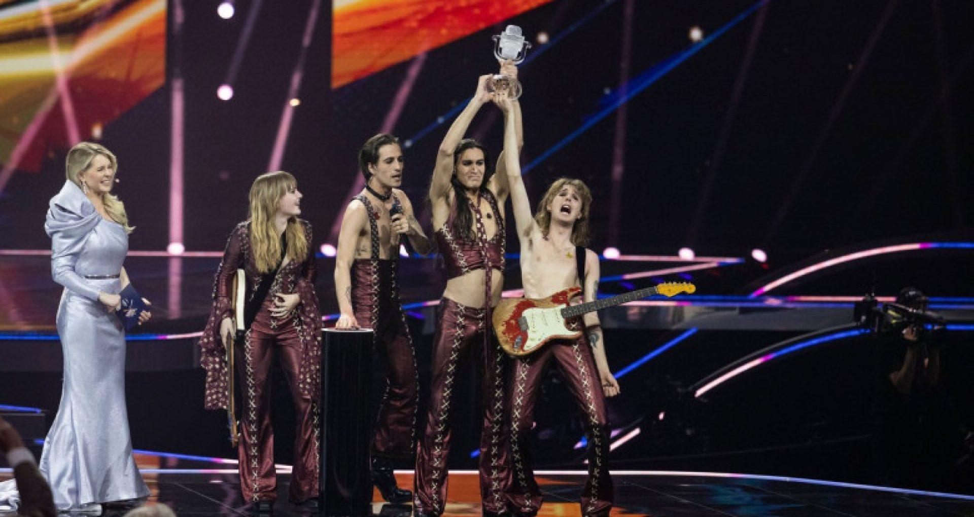 VIDEO/ Eurovision 2021 a fost câștigat de Italia, cu o piesă rock