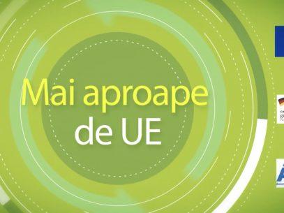 """Emisiunea """"Mai aproape de UE"""" – Dezvoltarea regională durabilă"""