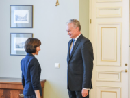 LIVE/ Ceremonia oficială de întâmpinare a președintelui R. Lituania, Gitanas Nauseda, de președinta R. Moldova, Maia Sandu