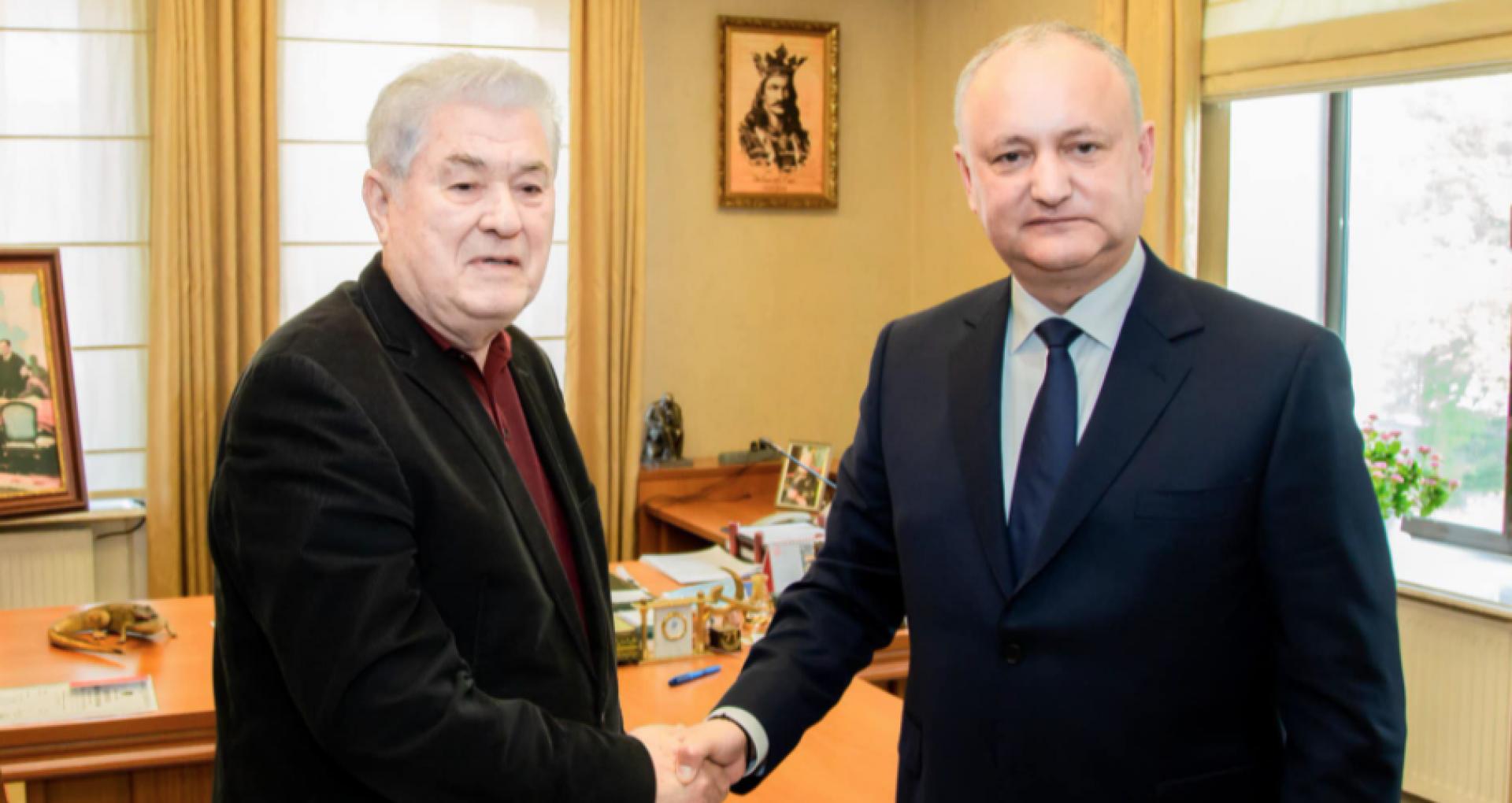 """Igor Dodon – """"trădătorul"""" și Vladimir Voronin – """"bătrânel mincinos și obosit"""" au semnat documentul oficial de creare a Blocului Electoral PSRM și PCRM"""