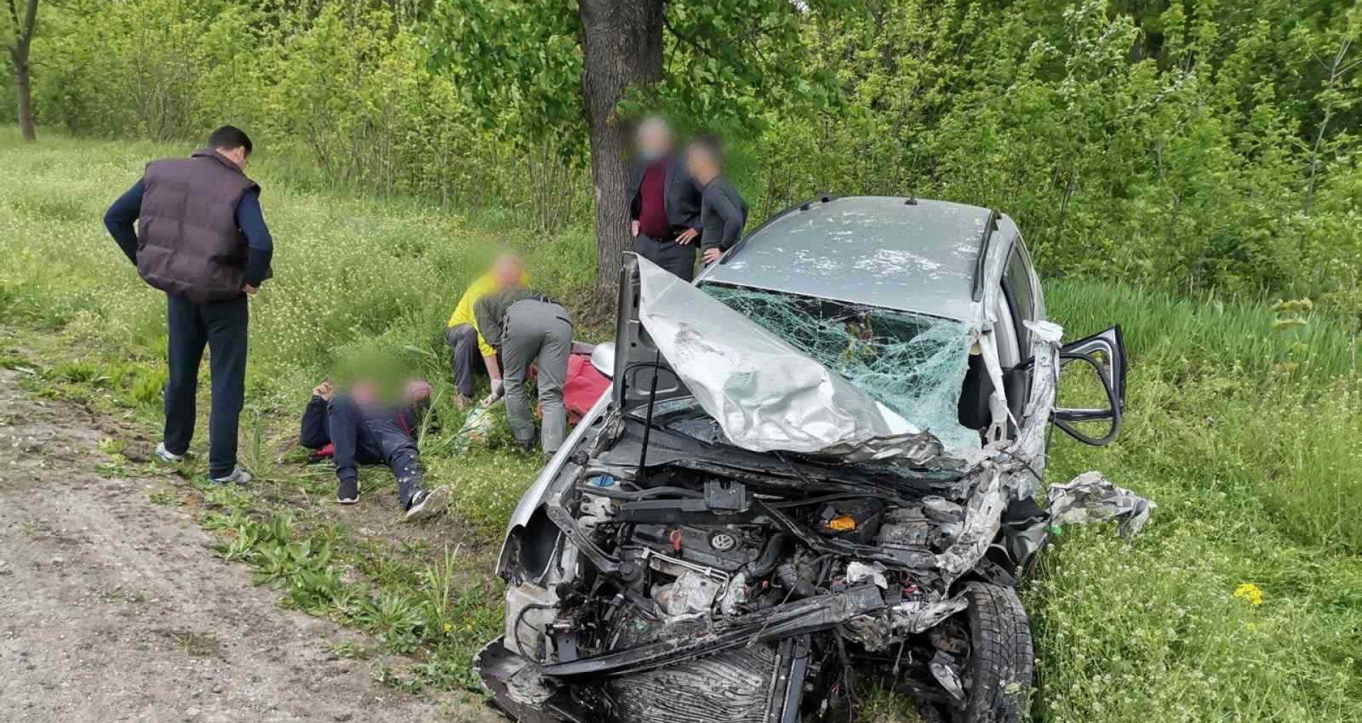 O femeie de 73 de ani, în stare gravă la spital, după accidentul din Elizaveta