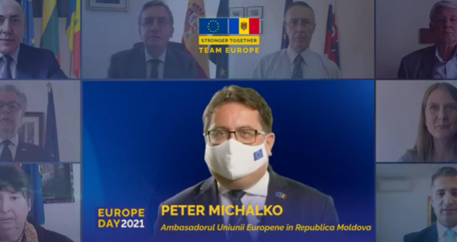 VIDEO/ Mesajele Ambasadorilor UE și a statelor membre cu ocazia Zilei Europei