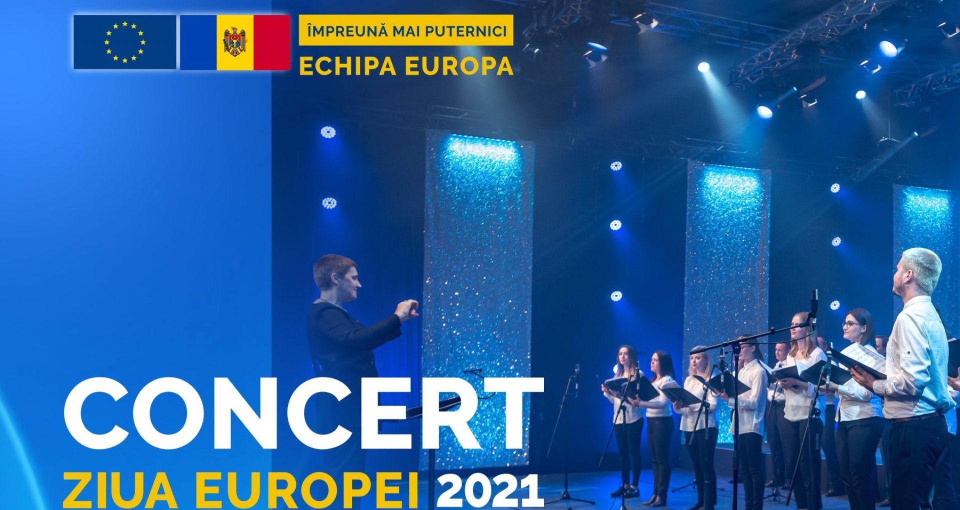 """LIVE/ Concert cu prilejul Zilei Europei: """"27 de țări reflectate prin muzică de 200 de artiști"""""""
