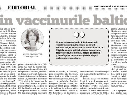 Vin vaccinurile baltice