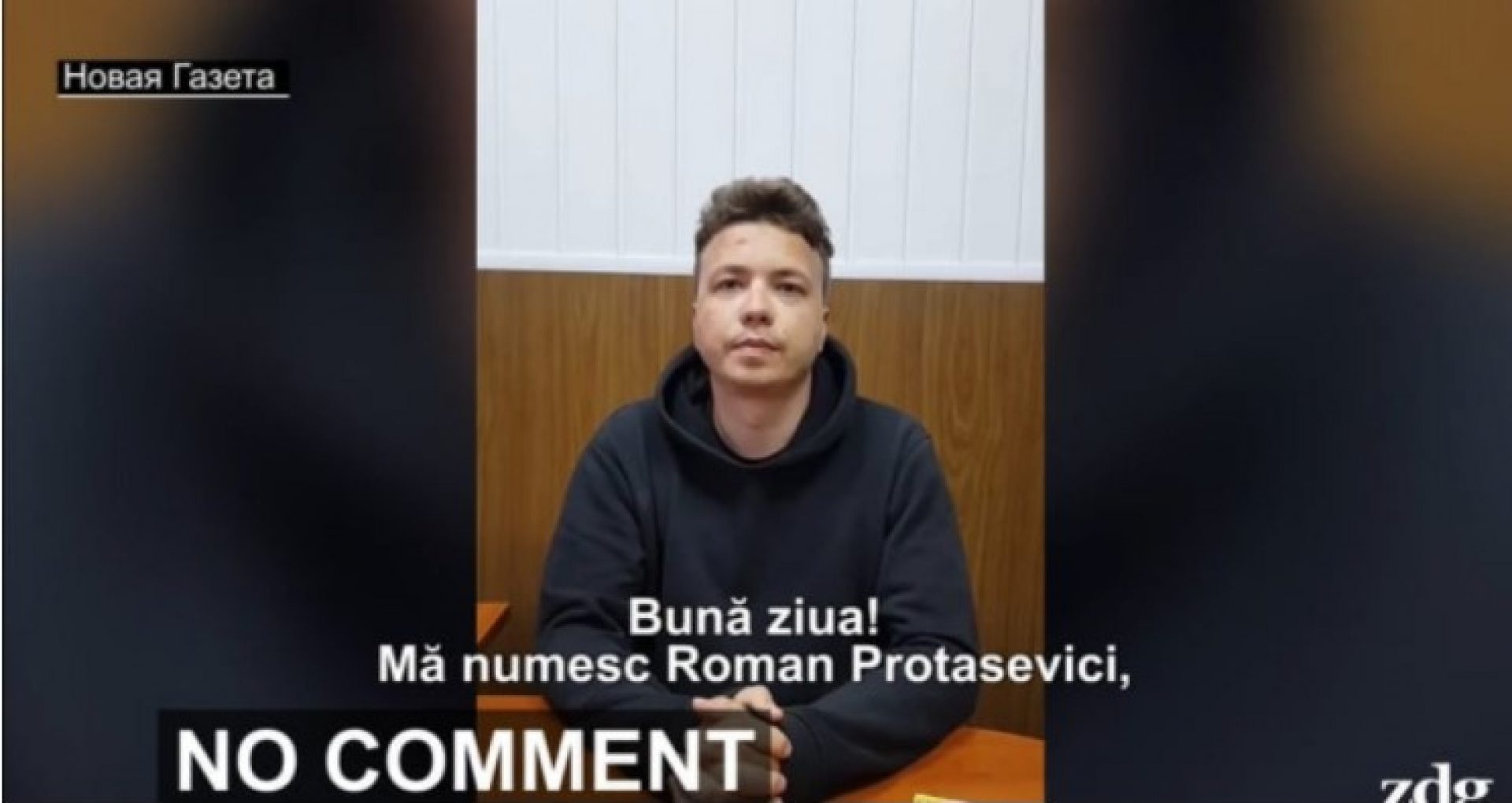 """VIDEO/ Tatăl jurnalistului reținut pe aeroportul din Minsk susține că imaginile video în care apare Raman Protasevici au fost făcute """"sub constrângere"""": """"E clar că fusese agresat fizic"""""""