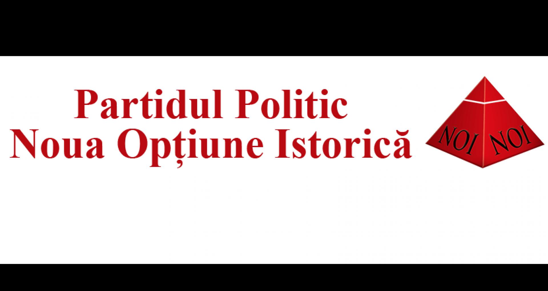 """DOC/ Lista completă a candidaților Partidului """"Noua Opțiune Istorică"""" la funcția de deputat pentru alegerile parlamentare anticipate, formațiunea politică care intenționa să-și modifice denumirea în """"PAȘ"""""""