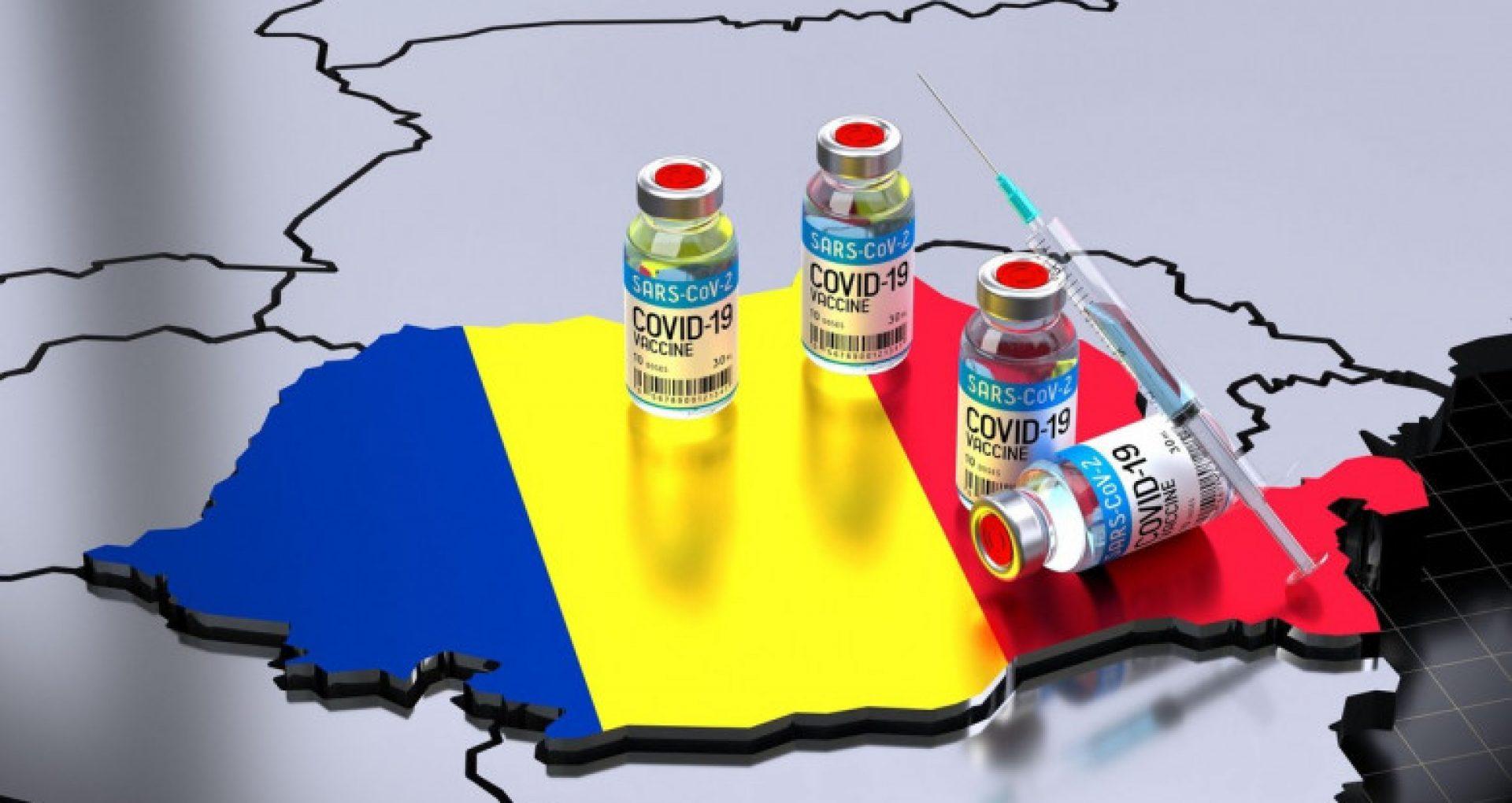România a depășit pragul de două milioane de oameni vaccinați cu ambele doze